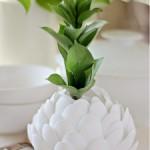Vaso de Flor Com Colheres de Plástico – Como Fazer