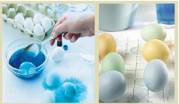 Como Pintar Ovos de Galinha Para Decoração - Passo  Passo