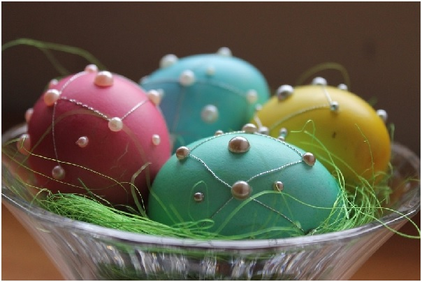 Como Pintar Ovos de Galinha Para Decoraç u00e3o Passo a Passo Bigtudo Artesanato -> Como Enfeitar Ovo De Galinha Para Pascoa
