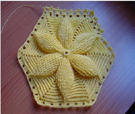Flor Mary de Crochê - Como Fazer