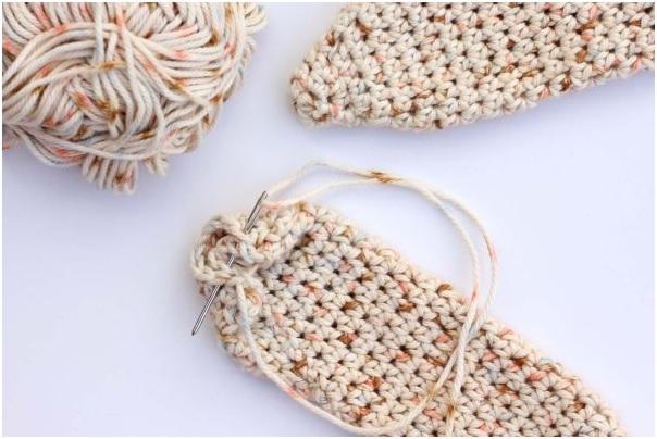 Touca Infantil de Coelho Crochê Como Fazer