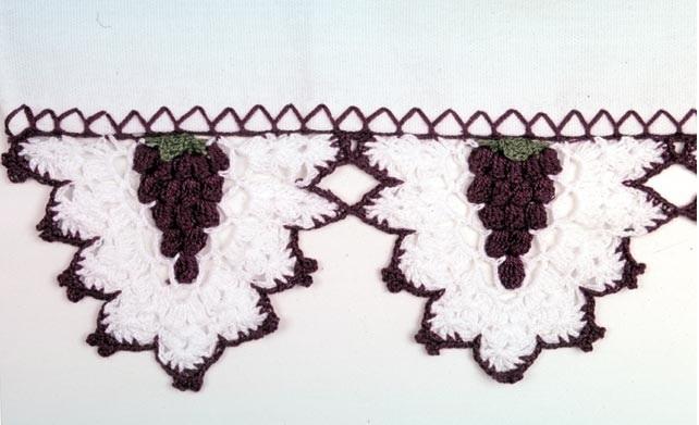 Bico Uva de Crochê - Como Fazer