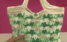 Bolsa Multiarte de Crochê – Material e Como Fazer
