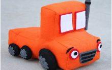 Mini Caminhão Em Feltro – Passo a Passo