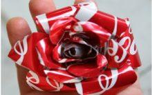 Rosa Feita de Lata – Material e Como Fazer