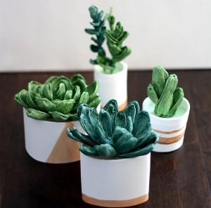 Suculentas Flores Papel Crepom – Material e Como Fazer