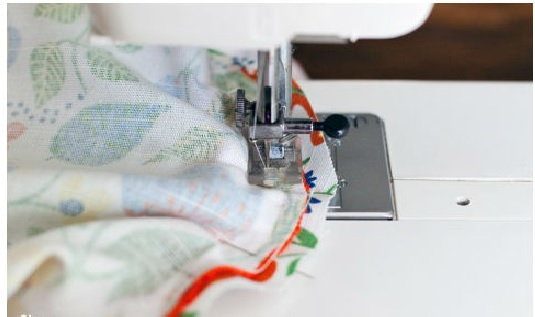 Travesseiro Rolo - Material costura
