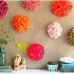 Flor Papel de Seda Coloridas – Como Fazer