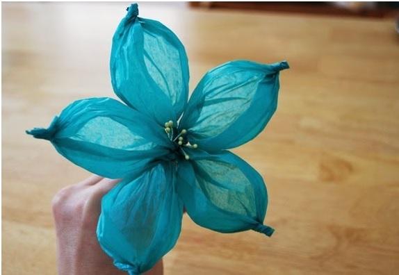 Flor Usando Bola de Ping Pong – Material e Como Fazer