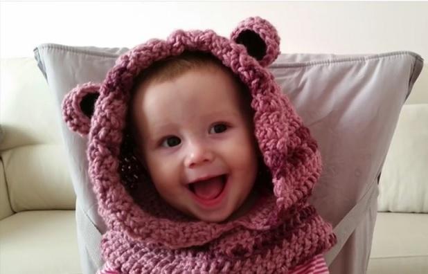 Gola Capuz Infantil - Explicativo