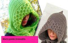 Gorro Croche Ponto Crocodilo – Passo a Passo