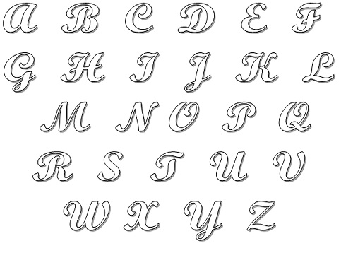 Molde de Letras em Casa  Como