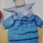 Porta Bebe Azul Crochê – Como Fazer