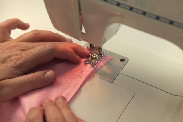 Almofada Boca Em Tecido - Maquina de costura