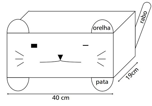 Almofada gato crochê-grafico