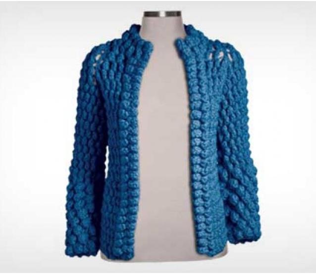 Casaco Feminino de Crochê – Como Fazer