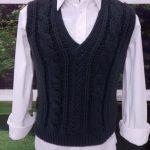 Pulôver Masculino Em Crochê – Material Passo a Passo