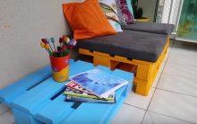 Sofá de Pallets – Como Fazer