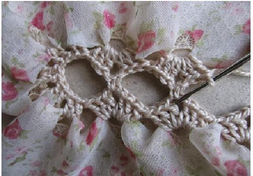 cachecolar renda Croche - outrolado