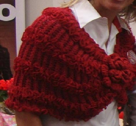pelerine vermelho