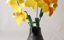 Bouquet Narcisos Em Feltro – Passo a Passo