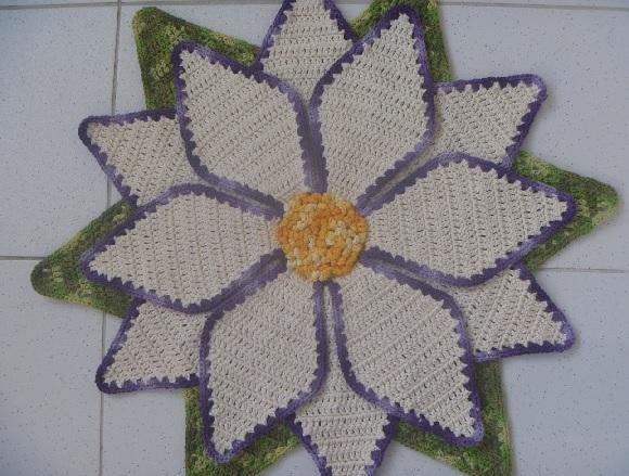 Tapete Flor Estrela – Material e Como Fazer