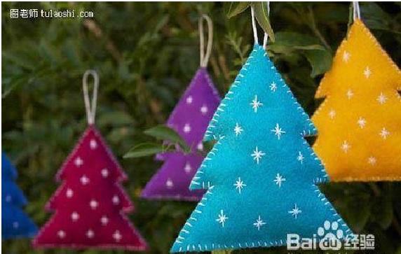 Árvore de Natal Em Feltro - Passo a Passo