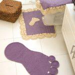 Conjunto de Banheiro Pezinhos Em Crochê – Material e Como Fazer