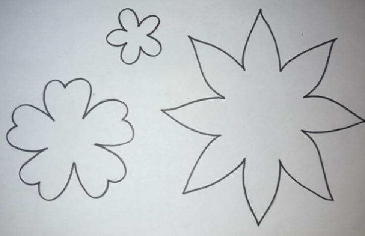 Flor Em Feltro - Como Fazer Grafico