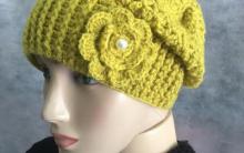 Gorro Verde Crochê – Gráfico e Receita