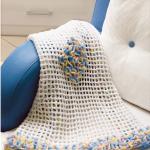 Manta Crochê Babadinhos Coloridos – Material e Receita