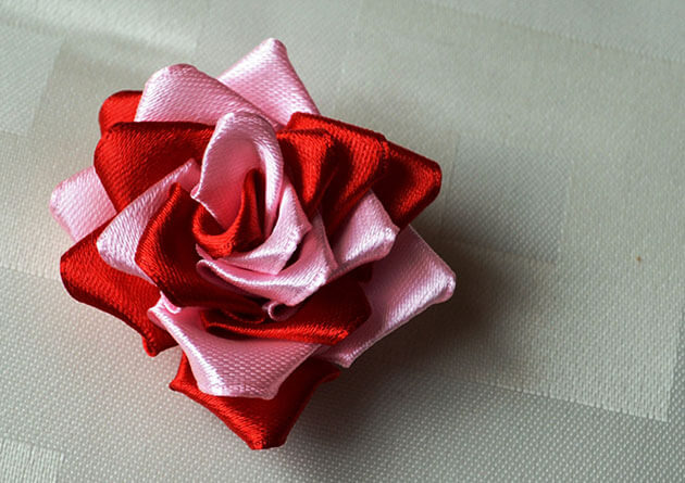 Rosa Em Duas Cores