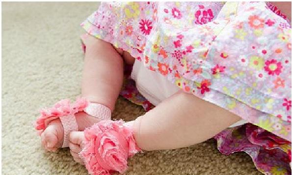 Sandália Para Bebê – Como Fazer