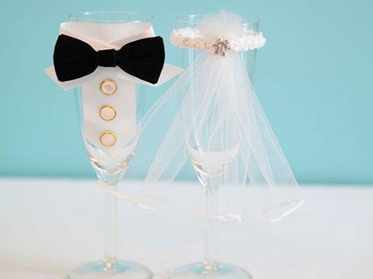 Taça Champanhe Para Casamento – Como Decorar