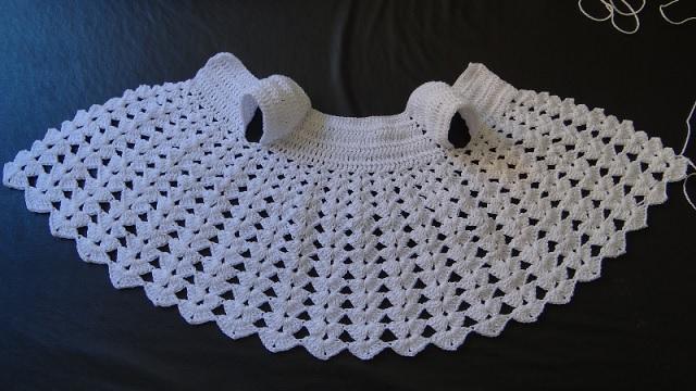 Vestido Para Bebê Em Crochê – 19 car