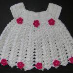 Vestido Para Bebê Em Crochê – Passo a Passo