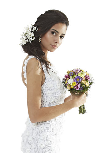 Vestido de noiva em crochê - receita