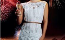 Vestido de Crochê Réveillon – Material e Execução