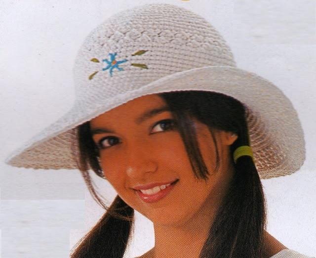 chapéu de praia-