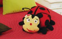 Joaninha Em Crochê – Como Fazer