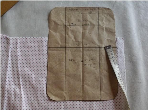 porta talheres em tecido bolso