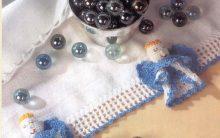 Barrado Anjo Em Crochê – Material e Como Fazer