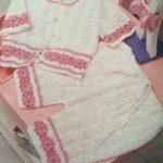Blusa e Bermuda Infantil Crochê – Material, Gráfico e Receita