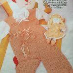 Jardineira Para Bebê Crochê – Material e Como Fazer