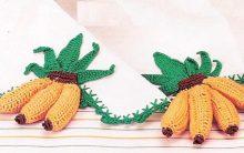 Barrado Banana Em Crochê – Como Fazer