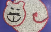 Tapete Gato Simples Crochê – Material e Execução