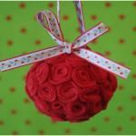 Bolinha Enfeite de Natal – Material e Passo a Passo