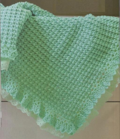 manta-verde-para-bebe-material-e-como-fazer