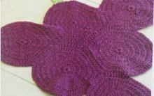Tapete Uva Em Crochê – Material, Gráfico e Receita