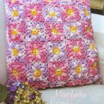 Almofada Floral Em Crochê – Material e Receita